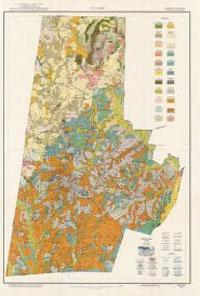 Durham Soils Map 1920